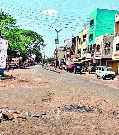 Violation of the rules: Shock on the Main Road | नियमांचे उल्लंघन : मेनरोडवर शुकशुकाट