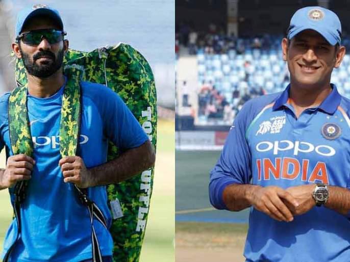 Jadhav, Kartik will exit from team india?   जाधव, कार्तिक यांना बाहेरचा रस्ता?