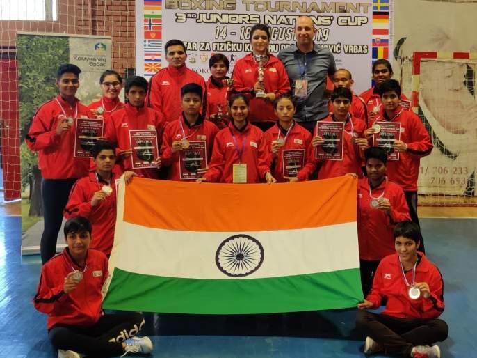 Goa's aashreya naik won 4 gold medals in Nations Cup | नेशन्स कपमध्ये गोव्याच्या आश्रेयाचा 'पंच'