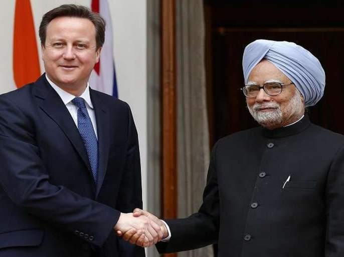 PM Manmohan Singh said to UK PM David Kaimran; Military action on Pak | ...तेव्हा यूकेच्या पंतप्रधानांना डॉ. मनमोहन सिंग यांनी सांगितले; पाकवर सैन्य कारवाई करणार