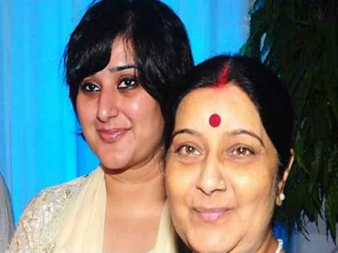 delhi assembly elections bjp may field sushma swarajs daughter against kejriwal | दिल्ली विधानसभा : भाजपकडून सुषमा स्वराज यांच्या कन्या देणार केजरीवालांना टक्कर ?