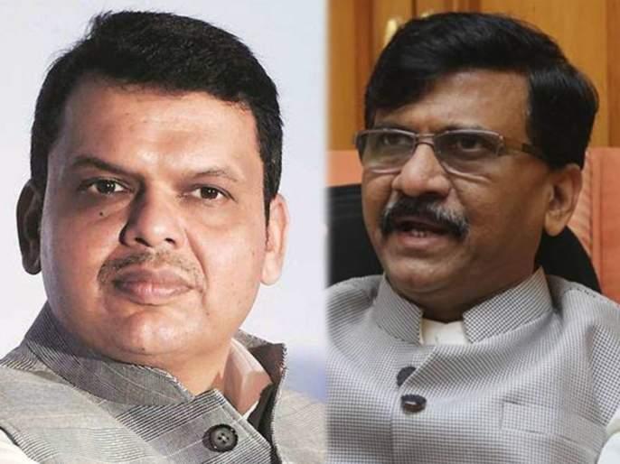 Shiv Sena Sanjay Raut Target BJP Devendra Fadanvis over BMC Election & Electricity bill | 'भगव्या'वरुन शिवसेना-भाजपात खडाजंगी; देवेंद्र फडणवीस अन् संजय राऊत एकमेकांना भिडले