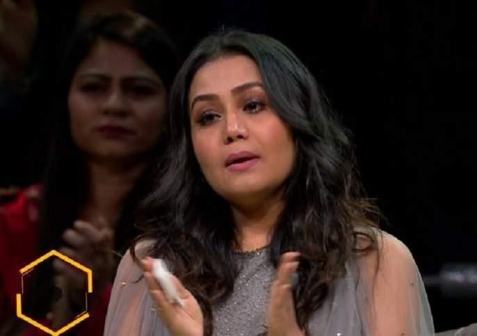 neha kakkar broke down on the sets of super dancer chapter 3 | नेहा कक्कडला पुन्हा आली हिमांश कोहलीची आठवण! व्हिडीओ व्हायरल!!