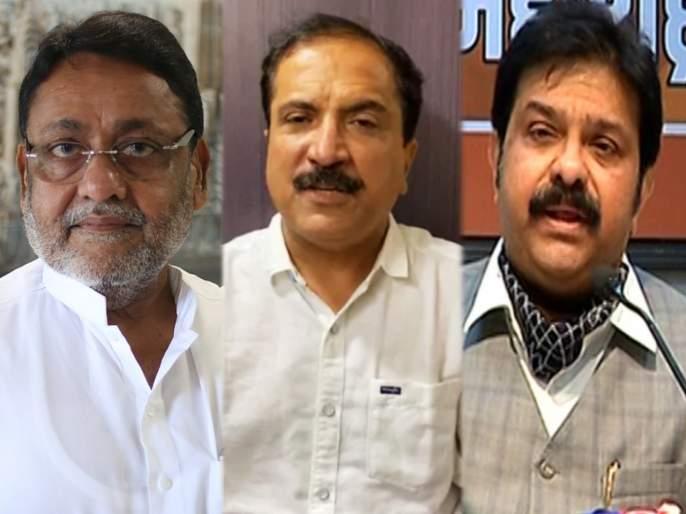 Nawab Malik's warning; BJP MLA Atul Bhatkhalkar and Prasad Land will be exposed | नवाब मलिकांचा इशारा; भाजपा आमदार अतुल भातखळकर अन् प्रसाद लाड यांचं पितळ उघडं पाडणार