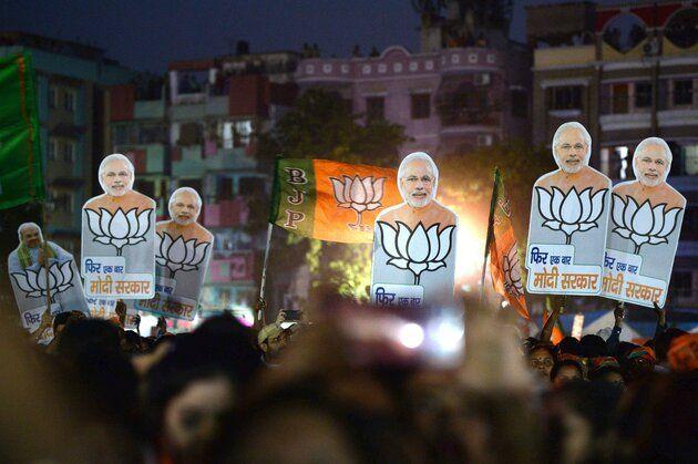 Exit Polls indicated, 'Once again Modi government' | एक्झिट पोलने दिले संकेत,'फिर एक बार मोदी सरकार'