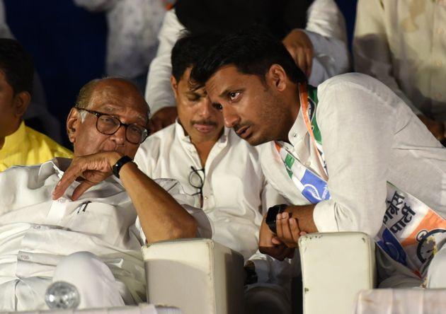 As soon as Pawar called him immature, the BJP leader praised Perth, nitesh rane | शरद पवारांनी इन्मॅच्युअर म्हणताच भाजपा नेत्यानं केलं कौतुक, 'पार्थ' लंबी रेस का घोडा