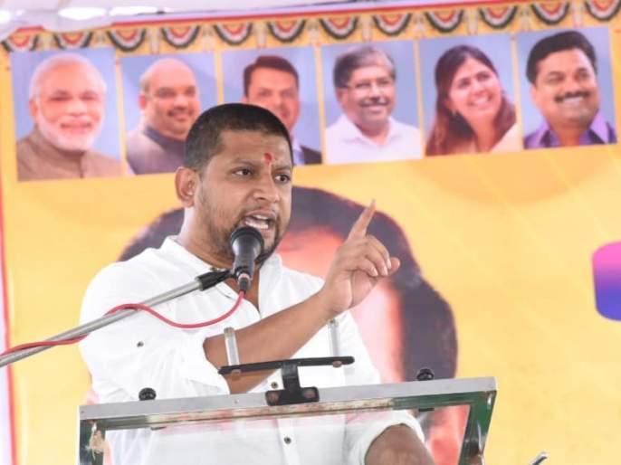 Video: BJP MP Sujay Vikhe Patil Video Viral in Social Media for questions raised to PM Narendra Modi | Video: 'मोदीसाहेब, छत्रपती शिवाजी महाराज अन् डॉ. आंबेडकरांच्या स्मारकाचं झालं काय?'