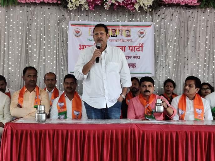 Maharashtra Election 2019: Udayan Raje Criticized NCP MLa Shashikant Shinde at Satara | Maharashtra Election 2019: आमच्या नरडीचा घोट घेण्याचा प्रयत्न केला तो कट; उदयनराजेंनी केला मोठा गौप्यस्फोट
