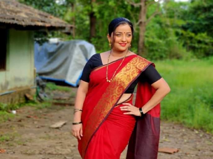 Ratris Khel Chaale 2 fame Shevanta Aka Apurva Nemalekar new look from serial | शेवंताचा 'रात्रीस खेळ चाले २' मधील नवा लूक पाहिलात का?, पहा तिचा फोटो