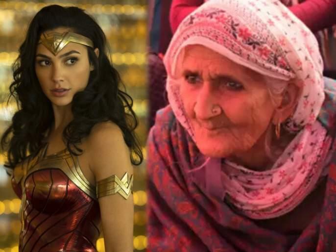 Wonder woman 1984 actress Gal Gadot share photo of Shaheen Bagh dadi Bilkis Bano   Gal Gadot ने शेअर केला शाहीन बागमधील आजीचा फोटो, म्हणाली - खरी Wonder Woman