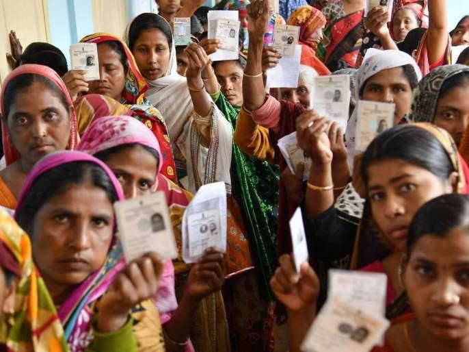 Voting is slow; As of noon, 89 percent of the vote was registered in Solapur district | मतदान संथगतीने; दुपारपर्यंत सोलापूर जिल्ह्यात झाले ३३.१२ टक्के मतदान