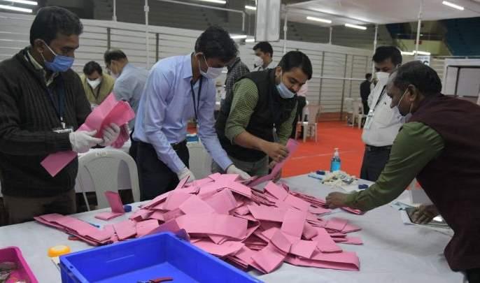 Graduate constituency elections; Counting begins in Nagpur | पदवीधर मतदारसंघ निवडणूक; नागपुरात मतमोजणी सुरू