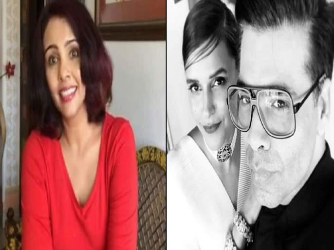 neha dhupia reply to suchitra krishnamoorthi tweet about her getting talk shows   नेहा धूपियालाच सर्व टॉक शो कसे मिळाले? सुचित्रा कृष्णमूर्ती 'चमचेगिरी' म्हणाली, नेहा भडकली