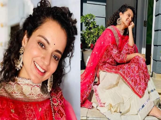 kangana ranaut reacts on fir against her comments on shivsena extends navratri wishes | माझी एवढी आठवण काढू नका, मी लवकरच...! कंगनाने महाराष्ट्र सरकारवर पुन्हा साधला निशाणा