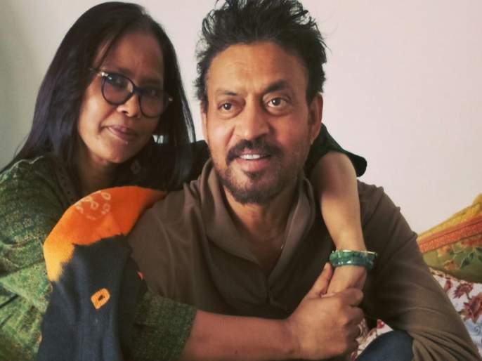 Irrfan Khan's wife Sutapa became emotional and said- I will meet you TJL | इरफान खानच्या आठवणीत भावूक झाली पत्नी सुतापा, म्हणाली- मीतुला भेटेन