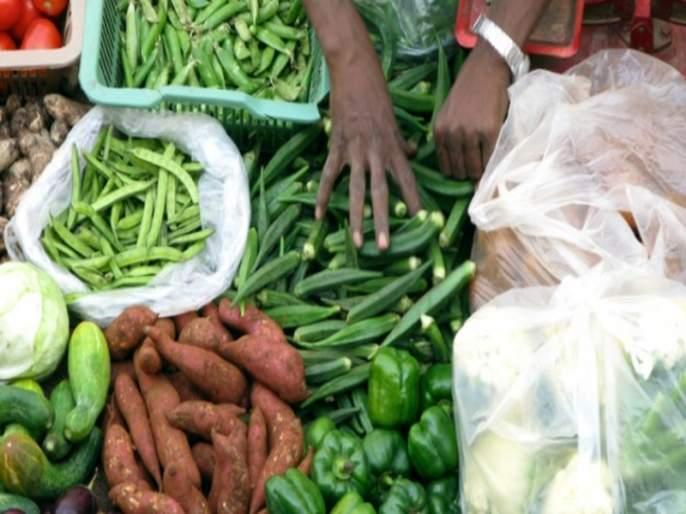 Vegetable prices in Vasai started to skyrocket | वसईतील भाज्यांचे भाव गगनाला भिडले