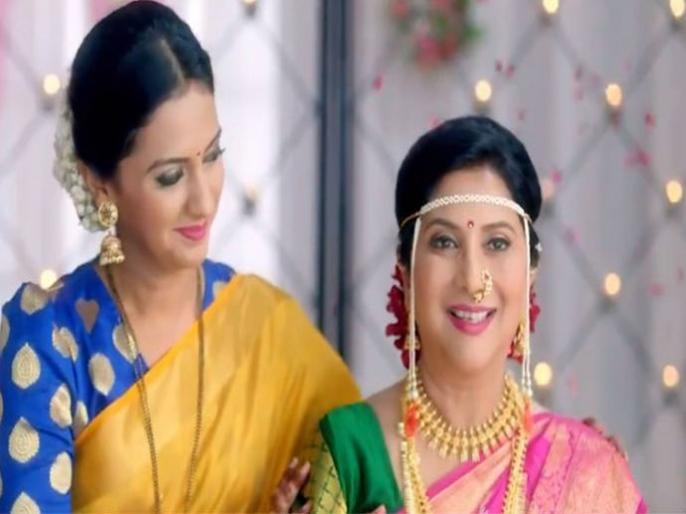 Shubhra mother in law marriage date is fix in agabainsasubai | Agga Bai Sasubai Serial : अखेर ठरला शुभ्राच्या सासूबाईंचा लग्नसोहळ्याचा मुहूर्त!