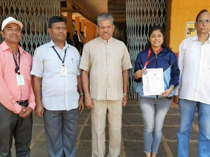 Aditi Malpekar Bronze Medal Standard!   आदिती मालपेकर कांस्य पदकाची मानकरी !