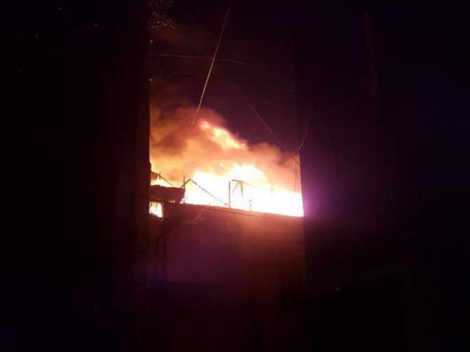 Fire at house at Mangaon Check the documents | Crime News -माणगाव येथे घराला आग; कागदपत्रे खाक; रानडुकरांच्या शिकारप्रकरणी दोघे ताब्यात