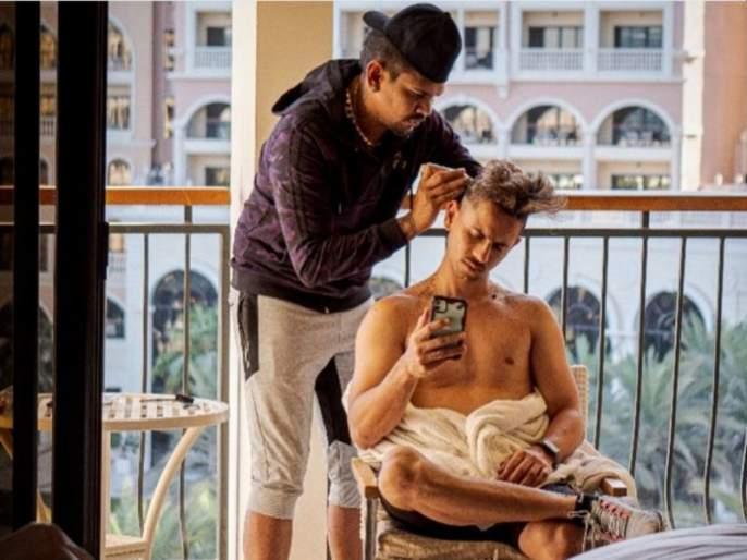 Haircut by Siddesh Lad from Sunil Narian | सुनील नरेनकडून सिध्देश लाडने करुन घेतली हेअरकटिंग