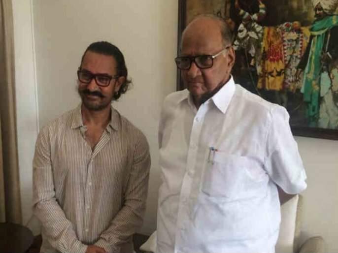 Baramati's Enchant to Aamir Khan; Want to stay for three to four days! | अमिर खानला पडली ''बारामती'' ची भुरळ ; '' या '' साठी करायचाय तीन ते चार दिवस मुक्काम!
