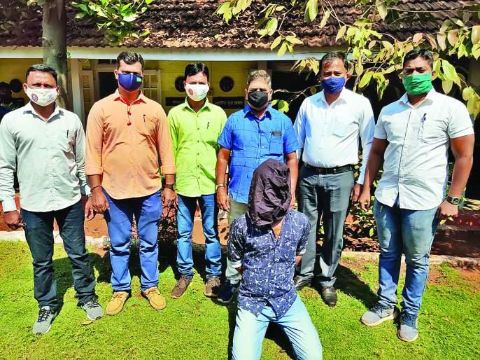 Accused escaped after biting police   पोलिसाला चावून पळालेला आरोपी गजाआड
