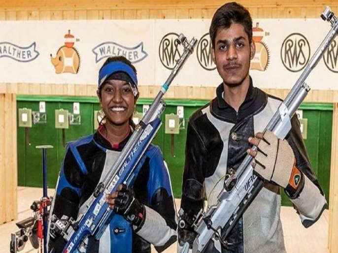 Young Shooters World Cup; Elevenil- Dominance of Divyansh | युवा नेमबाजांचा विश्वचषक स्पर्धेत 'सुवर्णवेध';इलावेनिल- दिव्यांश यांचा दबदबा