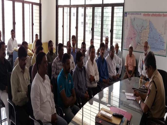 The police commissioners met a business delegation of Walul MIDC | वाळूज एमआयडीसीतील तोडफोड प्रकरणी उद्योजकांचे शिष्टमंडळ भेटले पोलिस आयुक्तांना