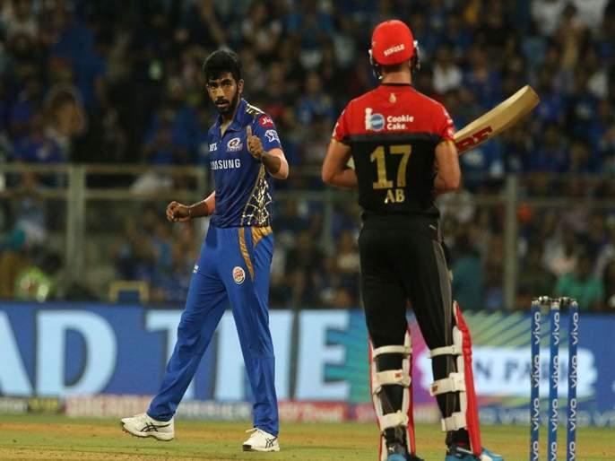 IPL 2019 KKR vs RCB : AB de Villiers is not going to be available for match against KKR | IPL 2019 KKR vs RCB : बुमराहच्या 'या' चेंडूमुळे ABDला घ्यावी लागली विश्रांती, कोहलीची डोकेदुखी
