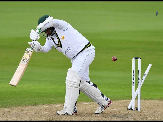England vs Pakistan 1st Test: What a ball this was from jofra Archer to bowl Abid Ali | England vs Pakistan 1st Test: जोफ्रा आर्चरनं उडवला पाकिस्तानी फलंदाजाचा त्रिफळा; पाहा Video