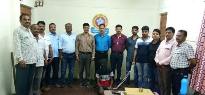 The accused, who escaped from the police custody, was eventually found | पोलिसांच्या कोठडीतून पळालेला आरोपी अखेर सापडला