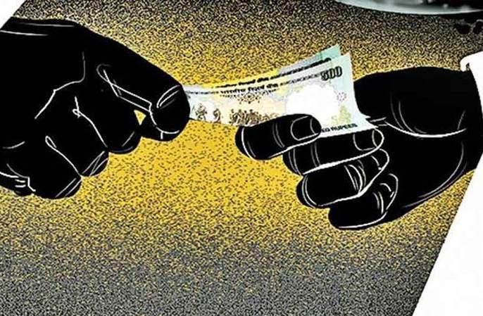 Talathi accepts bribe in ACB trap!   लाच स्वीकारताना तलाठी एसीबीच्या जाळ्यात !