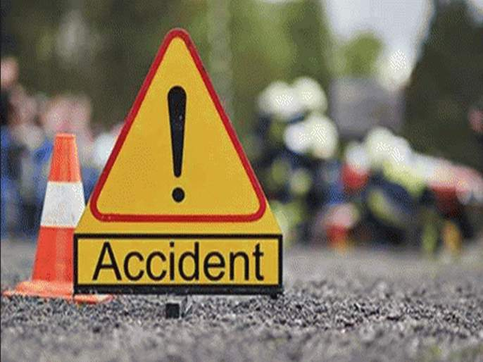 five people injured in Puntamba accident   पुणतांबा येथे भीषण अपघात, 5 जण जखमी