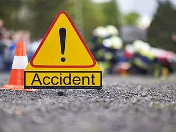 One killed in accident at flyover | उड्डाणपूलावर अपघातात एक ठार तर दोघांचा दुचाकीवरून पडल्याने मृत्यू