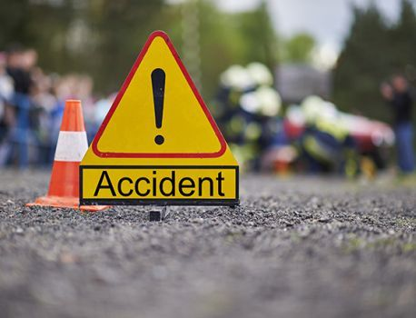 Two person death in accident; One injured at patas | पाटसला अपघातात दोन ठार ; एक जखमी