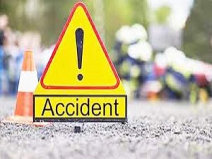 Motorcycle crash Two policemen injured | मोटारसायकलची बिबट्याला धडक; दोन पोलीस जखमी