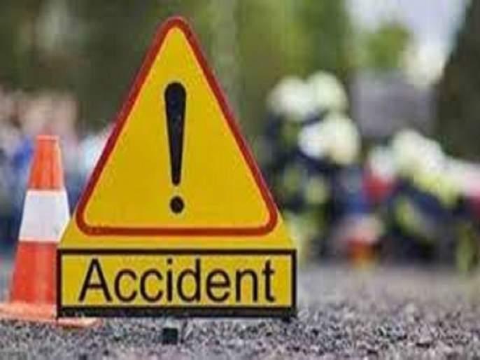 14 injured in tractor accident | ऊस तोड मजुरांच्या ट्रॅक्टरला अपघात, १४ जण जखमी