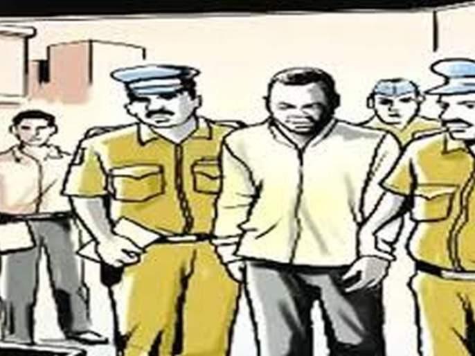 Accused attacked on Policemen in Buldhana district   घरफोडीतील आरोपींचा पोलिसांवर हल्ला