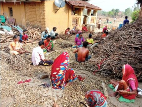 Use of tribal skills to raise living standards | आदिवासींच्या कौशल्याचा जीवनमान उंचावण्यासाठी वापर