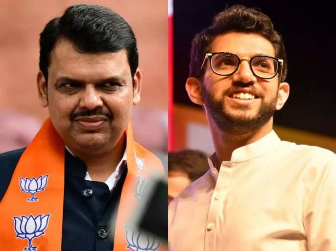 Former Chief Minister Devendra Fadnavis has lashed out at Shiv Sena leader Aditya Thackeray | नया है वह! मंत्री झाल्याने शहाणपण येतं असं नाही; देवेंद्र फडणवीसांचे आदित्य ठाकरेंना प्रत्युत्तर