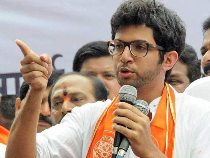 Aditya Thakre said about becoming CM | मुख्यमंत्री होण्यासंदर्भात आदित्य ठाकरे म्हणाले...