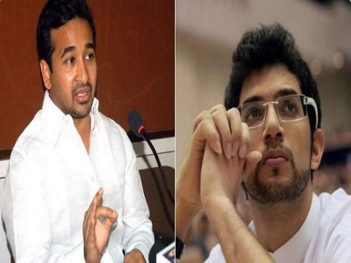 Maharashtra Election 2019: Nitesh Rane will wants to work With Aditya Thackeray   Maharashtra Election 2019 : आदित्य ठाकरेंच्या खांद्याला खांदा लावून काम करायचं आहे - नितेश राणे