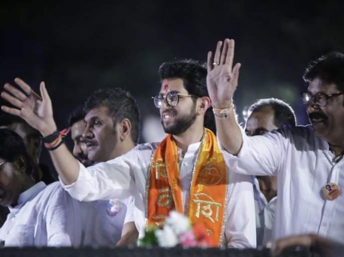 Maharashtra Election 2019 : state minister trying very best for Aditya Thackarey's safe constituency in worli constituency | Maharashtra Election 2019 : आदित्यच्या सुरक्षित मतदारसंघामध्ये सेनेच्या राज्यमंत्र्याची कसोटी