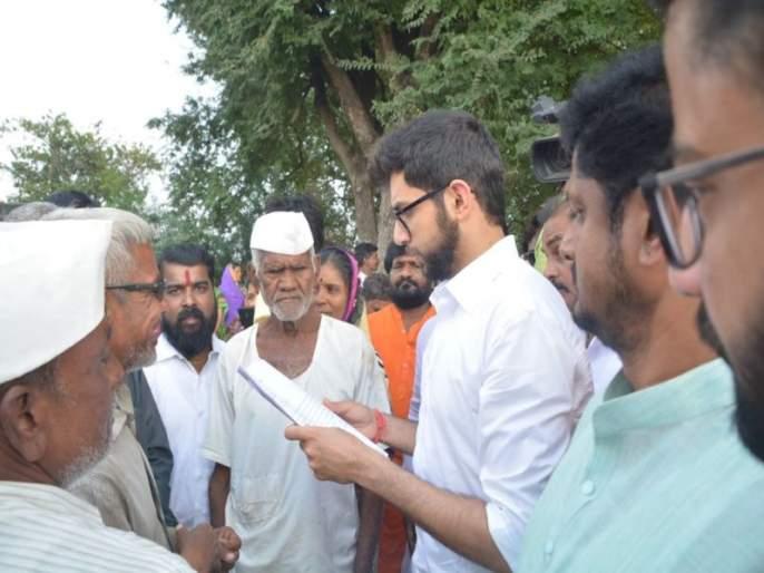 Aditya Thackeray said, 'debt free farming', farmer said 'Saaheb i got benefit of loan waiver | आदित्य ठाकरे म्हटले 'कर्जमाफी फसली', शेतकरी म्हणाला 'साहेब माझी तर झाली'!