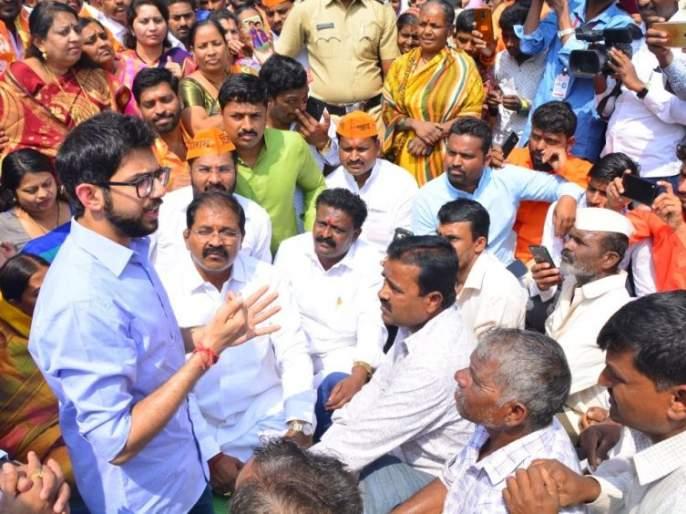 'Please vote for anyone, I have come to tell Shivsena's social commitment', aditya thackeray in solapur | 'मतदान कोणालाही करा, मी शिवसेनेची सामाजिक बांधिलकी सांगायला आलोय'