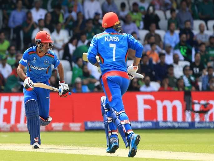 Najibullah Zadran and Mohammad Nabi have combined to hit seven maximums in seven balls for Afghanistan v Zimbabwe | AFGvsZIM : अफगाणिस्तानच्या फलंदाजांचा सत्ते पे सत्ता; सलग सात चेंडूंवर खेचले षटकार