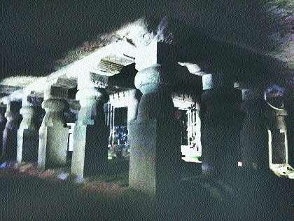 gUMPHA temple of Jogeshwari | जोगेश्वरीचे गुंफा मंदिर