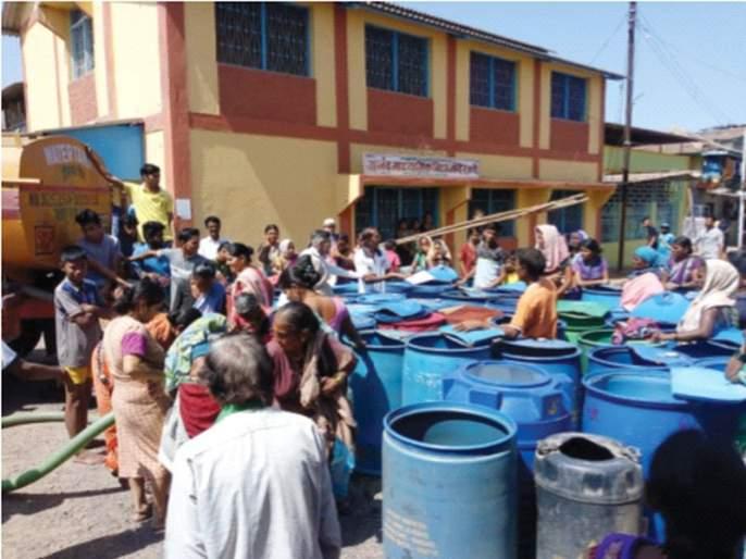 Water scarcity action plan approved | पाणीटंचाई कृती आराखडा मंजूर; एक कोटीचा निधी ५३ गावे, १२६ वाड्यांवर खर्च, विंधनसाठी मदत