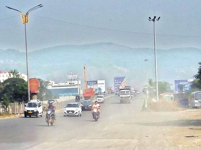 Air pollution of Navi Mumbai, BKC, Mazgaon | नवी मुंबई, बीकेसी, माझगावची हवा दूषित