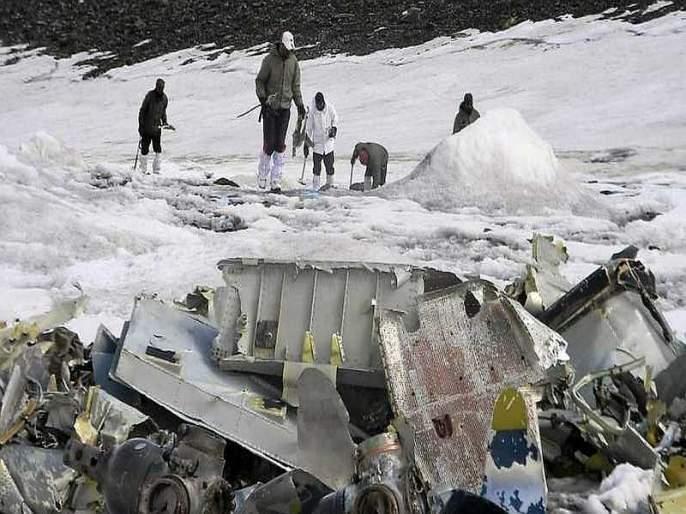 Remnants of a plane discovered 3 years ago | ५१ वर्षांपूर्वी कोसळलेल्या विमानाचे सापडले अवशेष
